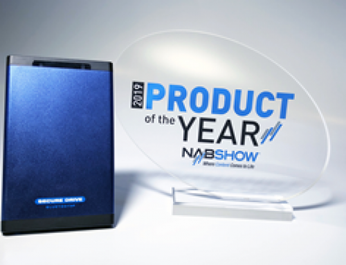 SecureDrive® BT Wins 2019 NAB Show Product of the Year Award